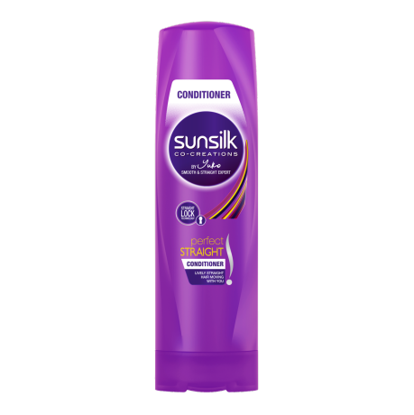 Perapi Perfect Straight Sunsilk 320ml imej di hadapan pek