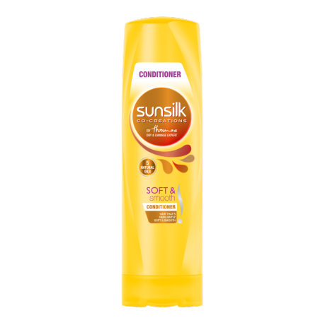 Perapi Soft and Smooth Sunsilk 320ml imej di hadapan pek
