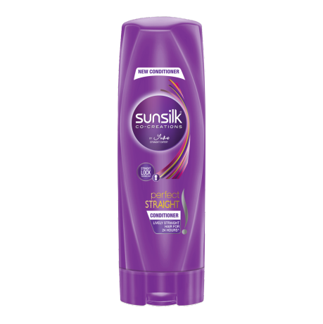 Sunsilk Perfect Straight Conditioner 180ml front of pack image