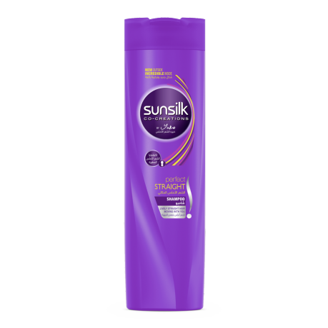 Perfect Straight Shampoo 400ml front of pack image