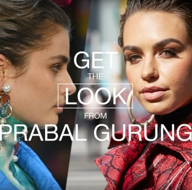 Get The Look #6 – Prabal Gurung with ambassador Cartia Mallan