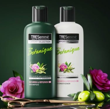 Product shot of the TRESemmé Botanique collection