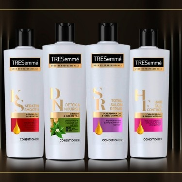Collection shot of Conditioner products