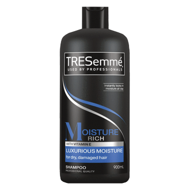 TRESemmé Moisture Rich Shampoo900ml Front of pack image