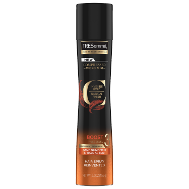 A 5.5 oz can of Compressed Micro Mist Level 3 Hair Spray