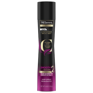 A 5.5 oz can of Compressed Micro Mist Level 2 Hair Spray